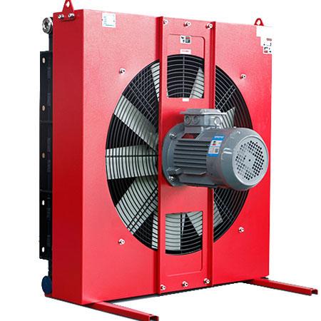 风冷却器厂家告诉你吸风式风扇比吹风式风扇的冷却器效果更好
